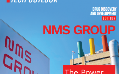 Pharma Tech Outlook Names NMS Group a Top Drug Discovery and Development Solution Provider in Europe 2021